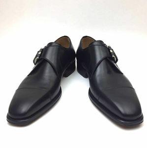 MAGNANNI Lennon Monk Strap Shoe sz 8